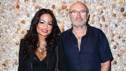Phil Collins fue invadido por su ex esposa y el novio de esta