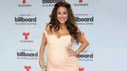 Carolina Sandoval le lanzó duro al padrino de su hija