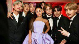 ¡Similares! Ariana Grande y BTS tienen mucho en común