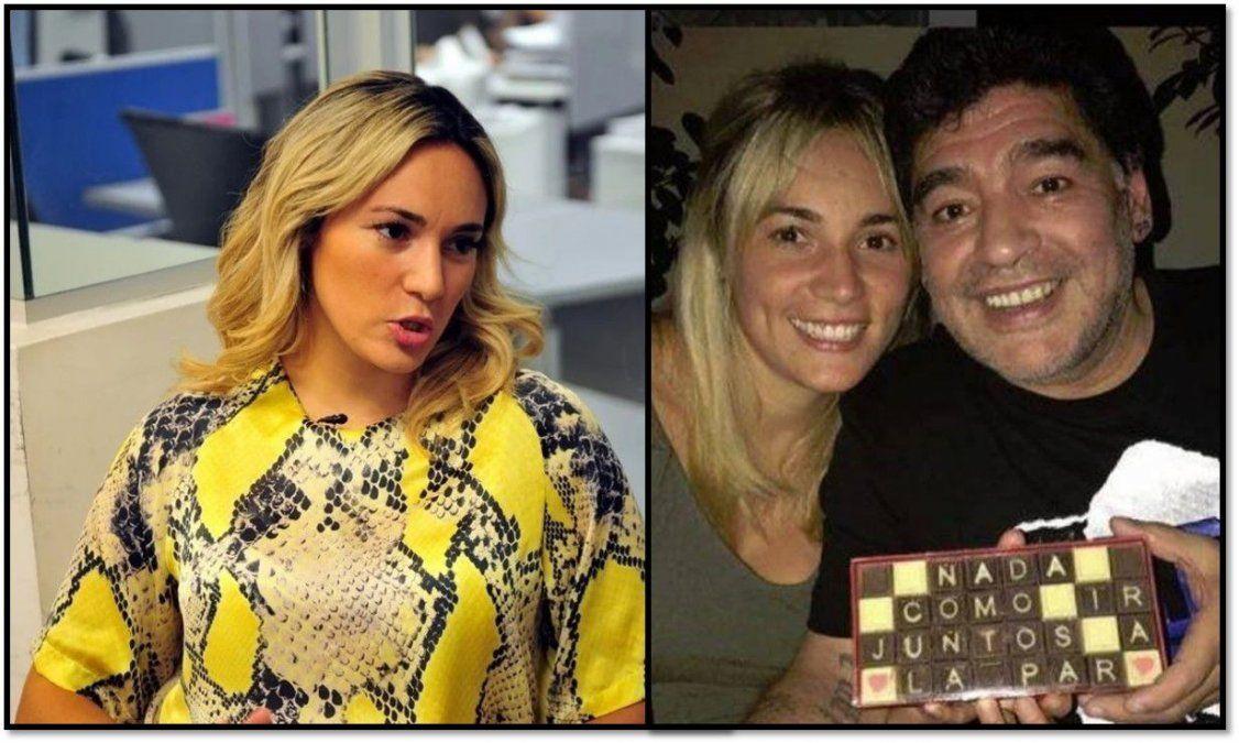 Rocío Oliva reveló el motivo por el cual se separó de Diego Maradona