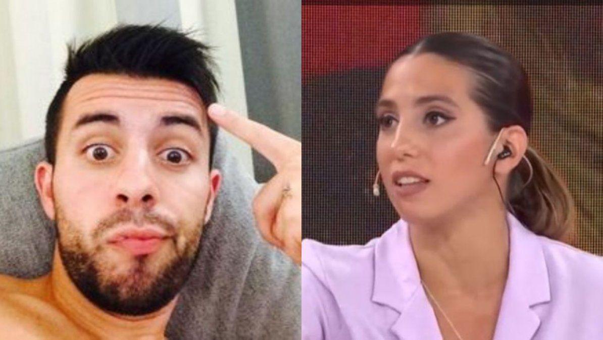 La reacción de Matías Defederico al ser consultado si votaría por Cinthia Fernández