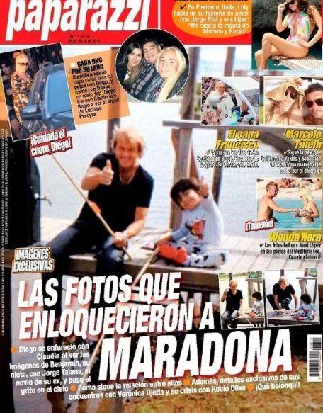 Jorge Rial presentó la tapa de Paparazzi en Intrusos