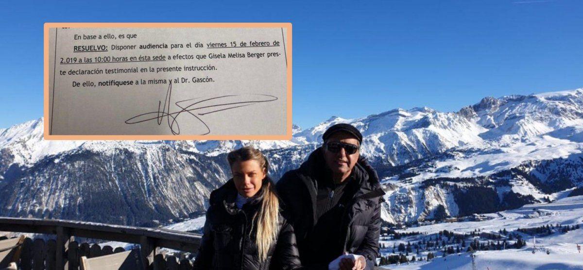 Gisela Berger no se presentó ante la Justicia para declarar por los tuits que publicó contra Daniel Scioli