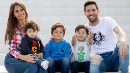 ¡Bienvenido! El nuevo integrante de la familia Messi