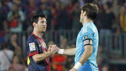 ¡Se despide! El mensaje de Messi a Iker Casillas