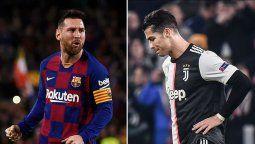 ¡Los mejores! Lionel Messi y Cristiano Ronaldo en el equipo ideal