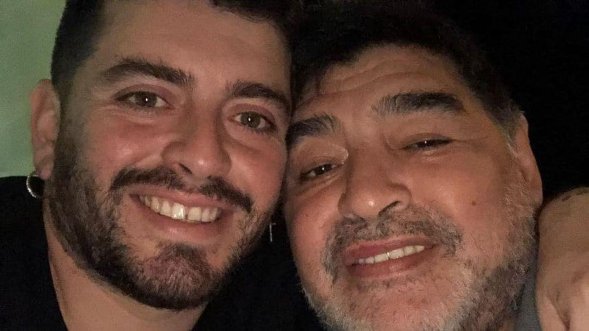 Diego Jr. a la espera del resultado del hisopado para poder viajar a la Argentina
