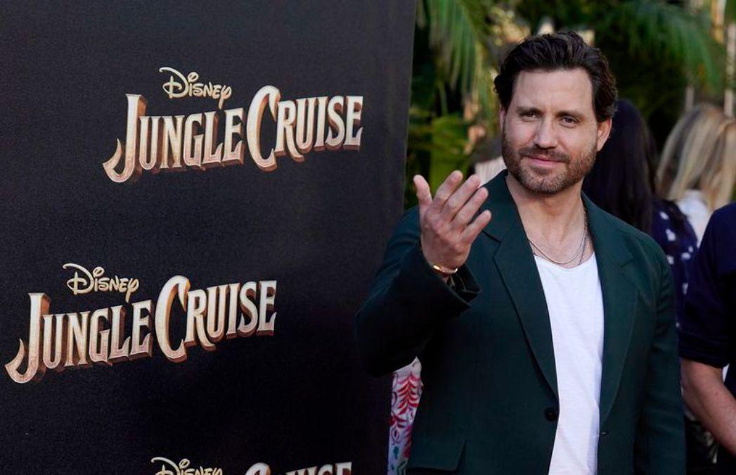 Edgar Ramírez personifica a Aguirre, en la nueva película de Disney Jungle Cruise