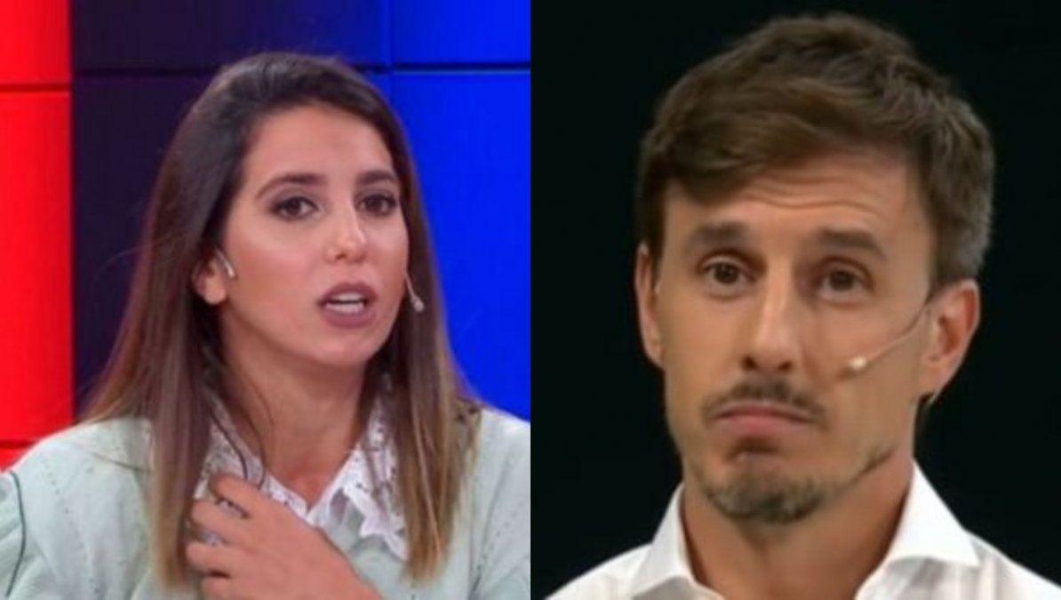 Cinthia Fernández indignada porque Roberto García Moritán no le dio una nota a LAM