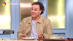 El chef Roberto Petersen hizo un fuerte descargo contra uno de los participantes del certámen por el repulgue de la tarta.