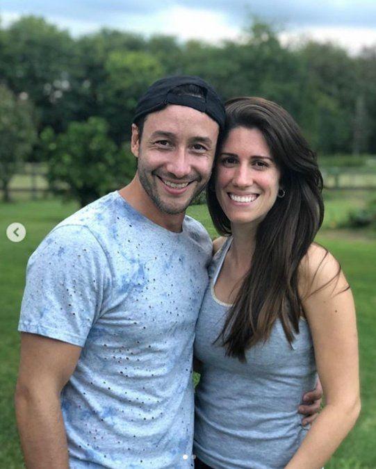 Más íntimo que nunca: Luciano Pereyra presentó a su novia Julia