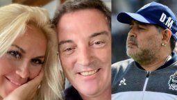 El novio de Verónica Ojeda habló de Diego Maradona
