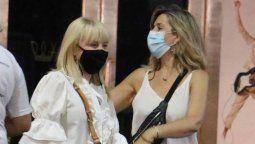 Claudia Villafañe se mostró en eventos públicos por primera vez tras la muerte de Diego Maradona