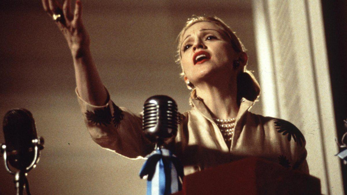 Madonna recordó a Alan Parker