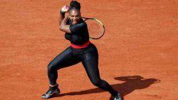 ¡Con chances! Serena Williams podría tener un gran Roland Garros
