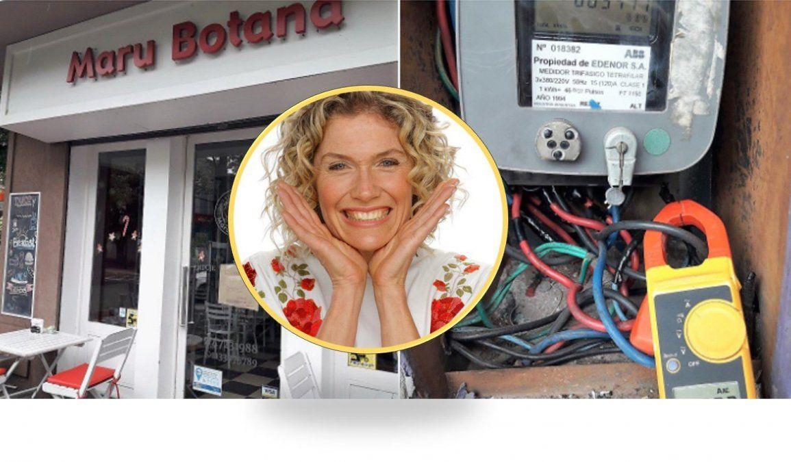 Denuncia! Maru Botana se colgó de la luz y Edenor la escrachó en las redes