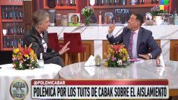 Mariano Iúdica le pidió a Horacio Cabak a que dijera la verdad acerca de la vacuna
