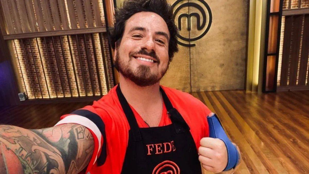 El actor Fede Bal debutará esta noche en las cocinas de Masterchef
