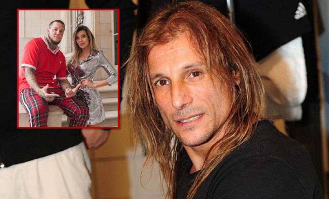 Claudio Paul Caniggia habló del escándalo con Nannis: Mis hijos fueron manipulados