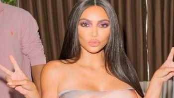¡Le encanta lucir! Kim Kardashian mostró un lujoso collar