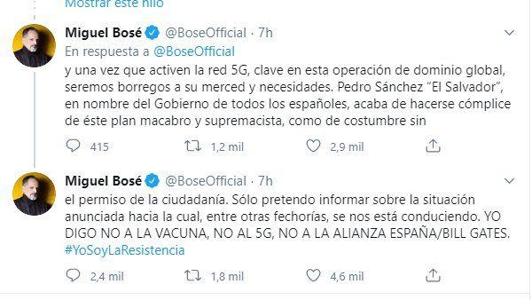 Hilo de MIguel Bosé