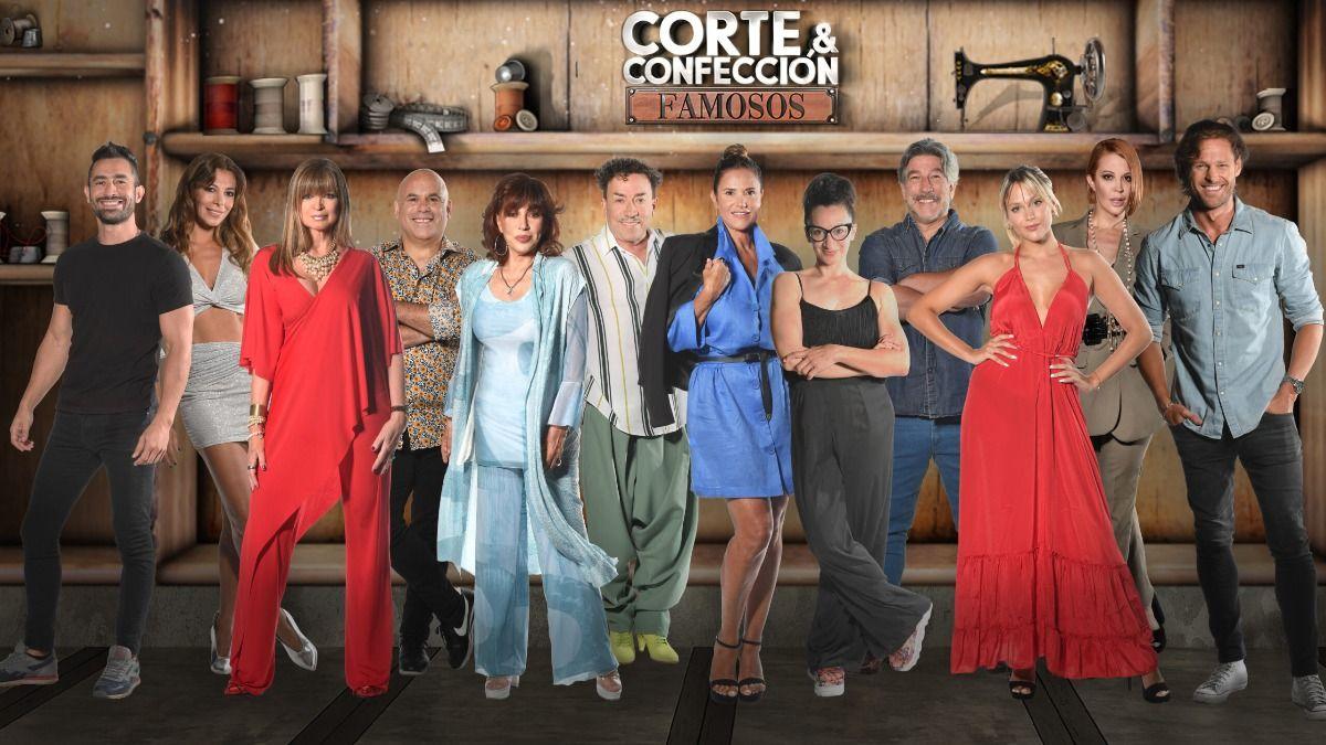Estos son los participantes del reality Corte y confección famosos