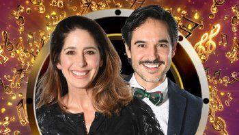 Laura Novoa y Patricio Arellano, participantes del Cantando 2020