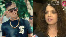 Polémicas palabras de L-Gante a Patricia Sosa