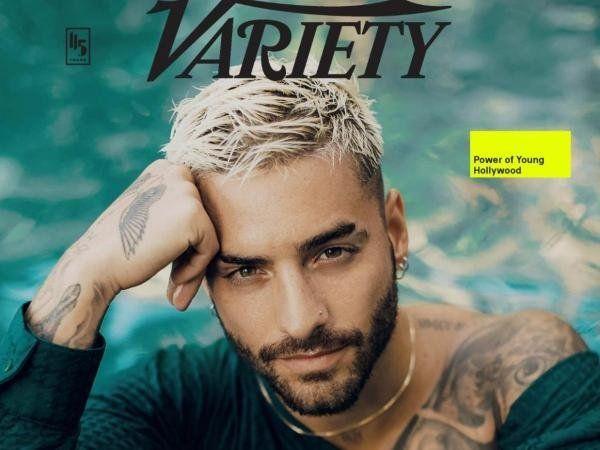 ¡De portada! Maluma es la cara de una prestigiosa revista