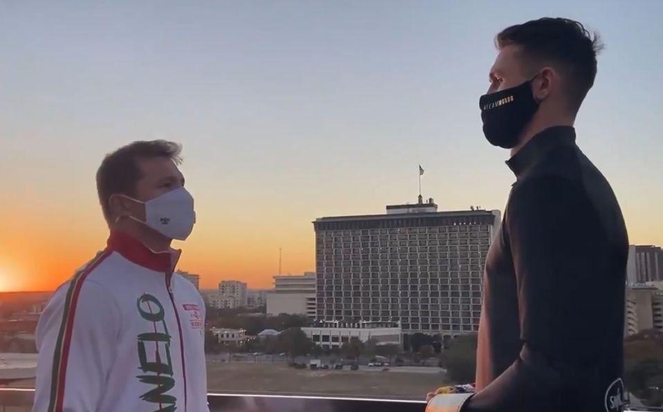 ¡Al boxeo! Sofía Reyes fue invitada al ring por Canelo Álvarez
