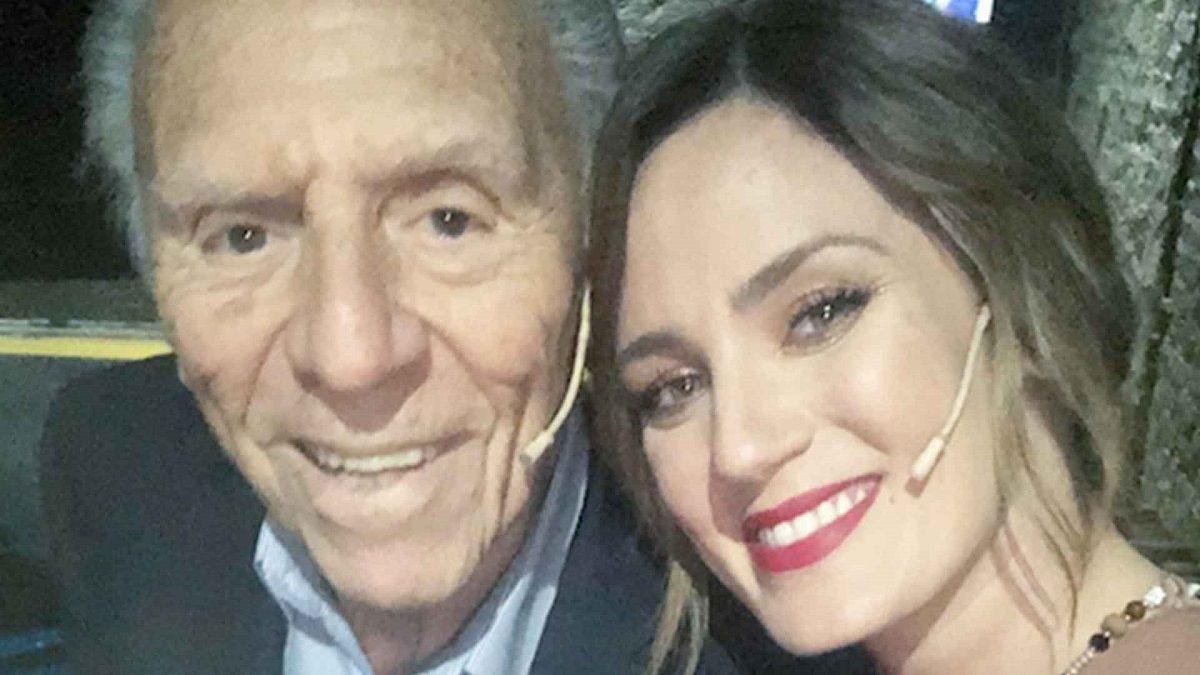 Paula Chaves y su abuelo Isaac Kaki