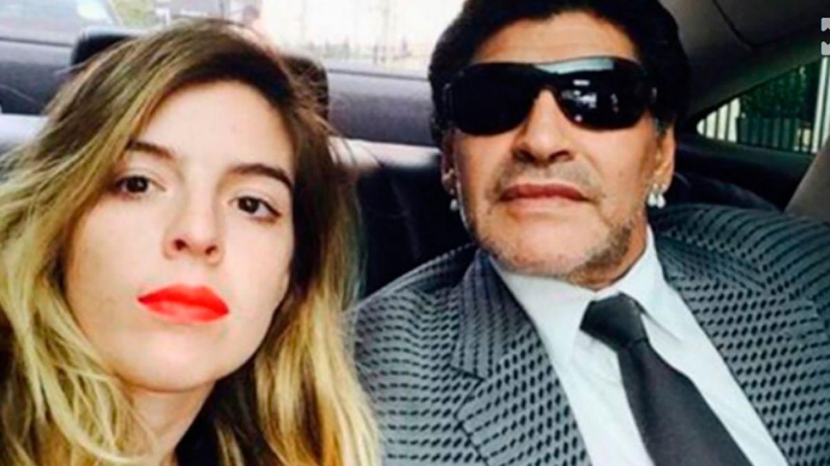 El duro mensaje de Gianinna Maradona a Diego Maradona: Basta