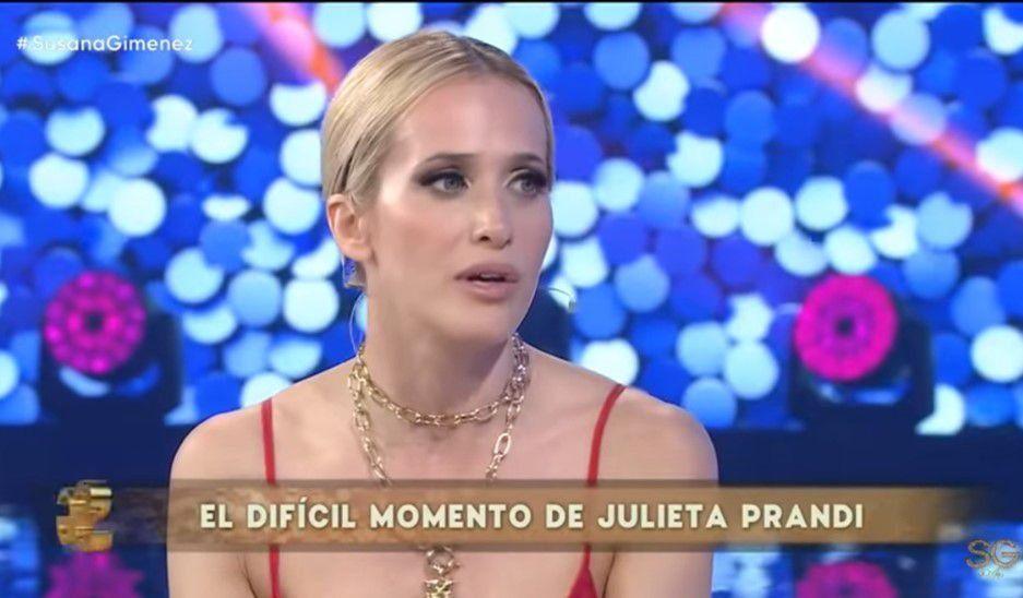 Julieta Prandi visitó a Susana Giménez y habló de su ex marido: No creo que me haya amado; siento que fue planeado