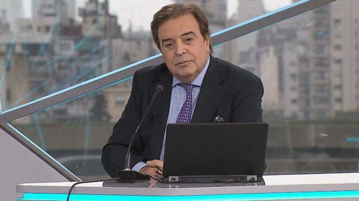 Murió Edgardo Antoñana, conductor de TN
