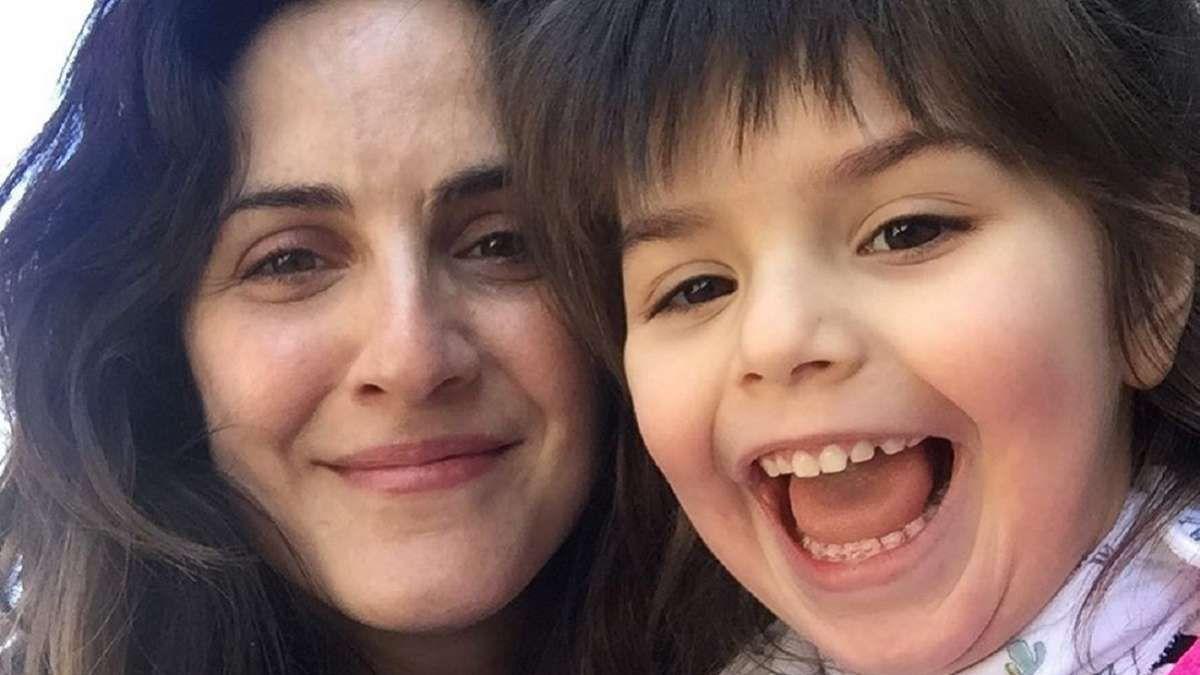 Julieta Díaz habló de la salud de su hija: Tiene parálisis cerebral