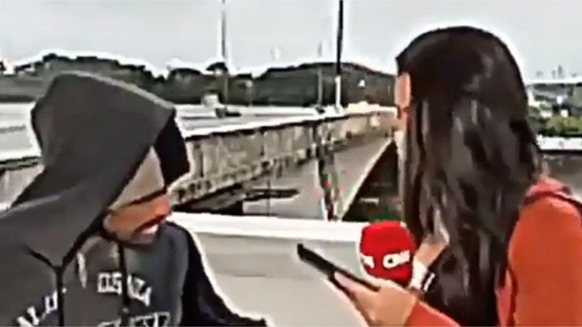 Periodista es asaltada mientras hacía una nota