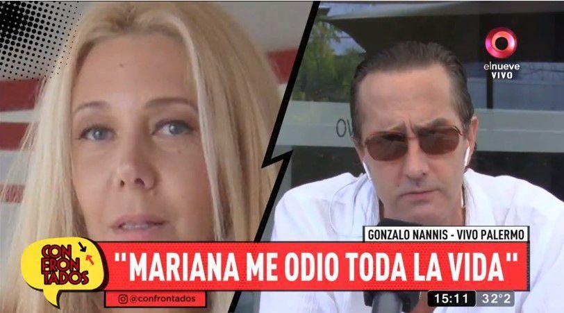 El hermano de Mariana Nannis dispara contra ella: Es una estúpida; me robó plata de una casa