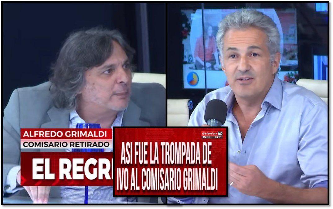Ivo Cutzarida y un ex comisario a las trompadas en el programa de Chiche Gelblung