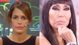 Moria Casán cruzó a la ex de Sergio Denis: Me están acusando de prostitución