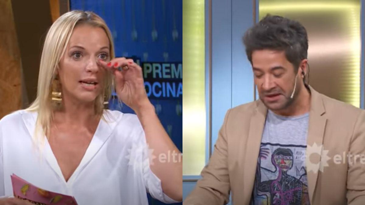 El gran premio de la cocina: Mauricio Asta imitó a Christian Petersen y Carina Zampini lloró de la risa
