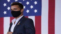 Ricky Martin está triste por los latinos que apoyan a Donald Trump