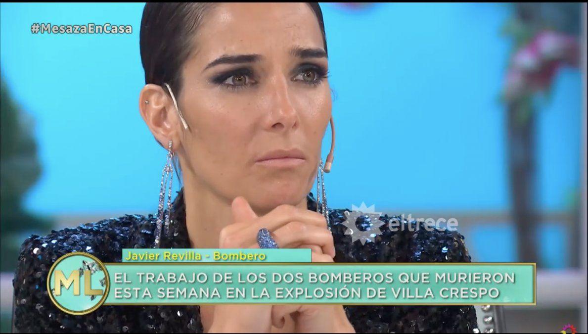 Juana Viale y un desafortunado comentario sobre uno de los bomberos fallecidos en Villa Crespo
