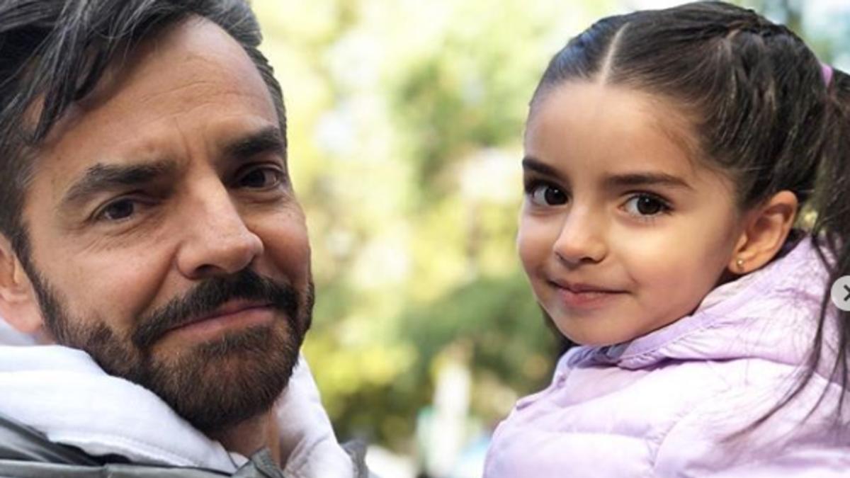 ¡Hermoso! El emotivo mensaje de Eugenio Derbez a su hija Aitana en su cumpleaños
