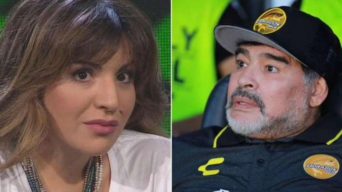 La relación entre Gianinna y Diego Maradona no está pasando por su mejor momento
