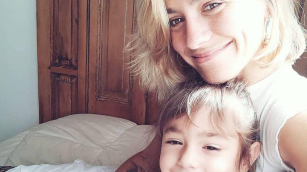 Rocío Igarzábal angustiada por la crianza de su hija