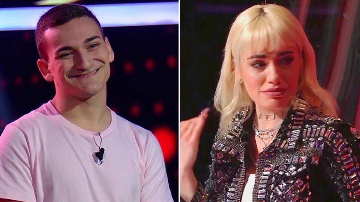 Lali Espósito hasta las lágrimas con un participante de La Voz que no eligió
