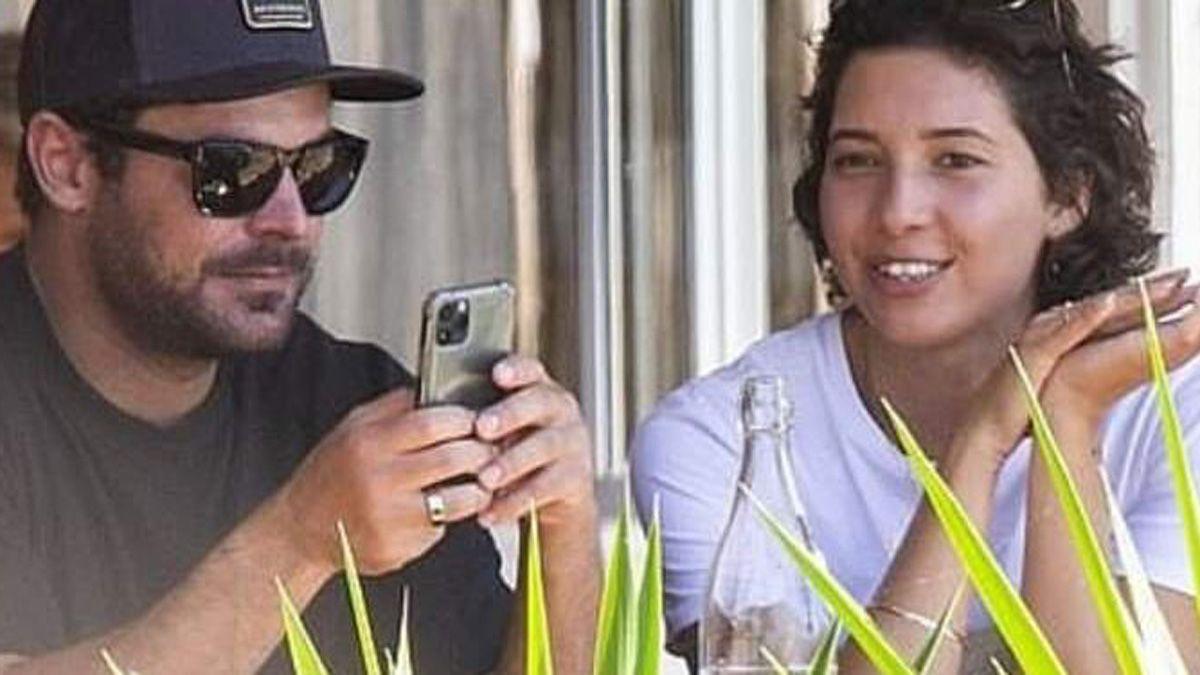 Zac Efron es captado junto a su nueva novia y las redes sociales explotaron