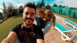 Estamos aislados: El hijo de Nicolás Magaldi presenta síntomas compatibles con coronavirus
