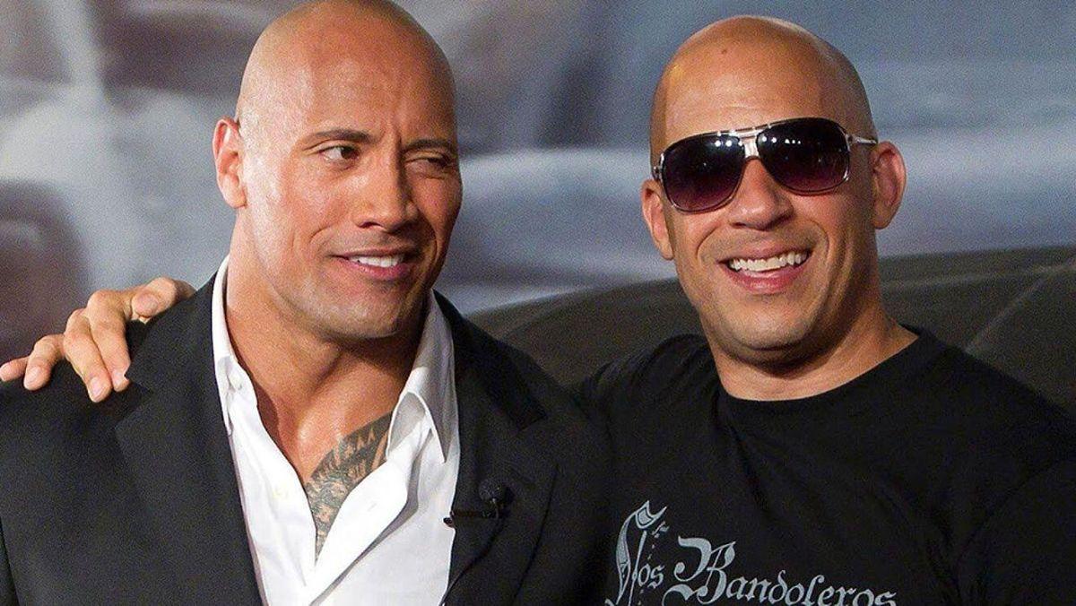 Vin Diesel y Dwayne Johnson tuvieron fuertes enfrentamientos durante el ródaje de Rápido y Furioso