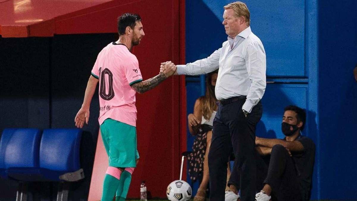 ¡Comprensión total! Lionel Messi es respaldado por Ronald Koeman